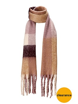 v-by-very-brushed-oversized-check-blanket-scarf