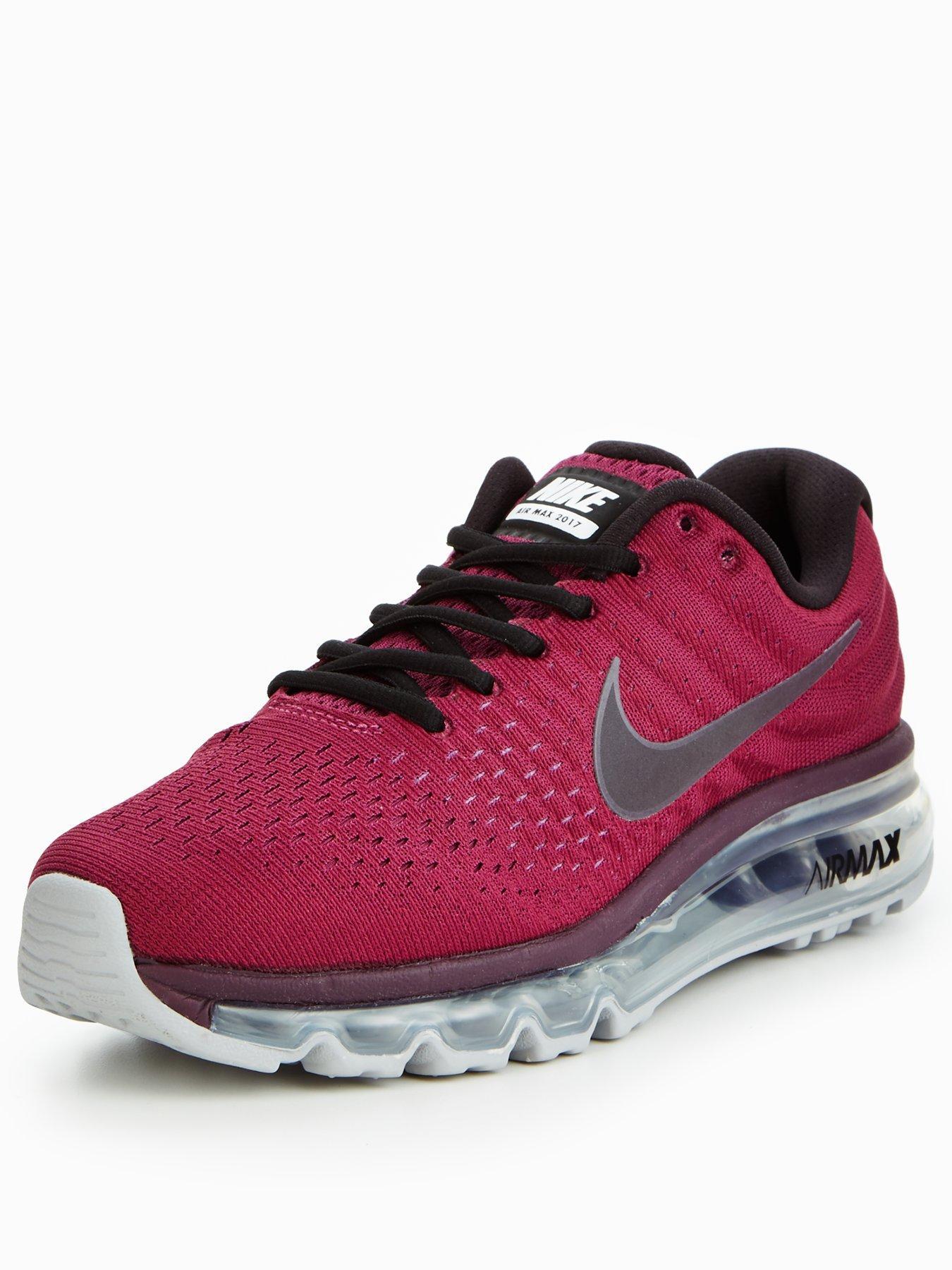 Nike Air Max 2017 Burgundy 1600179683 Women's Shoes Nike Trainers
