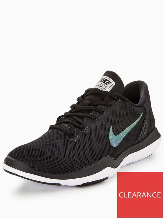 4a40324fe1eed Nike Flex Supreme TR 5 Shine - Black Grey