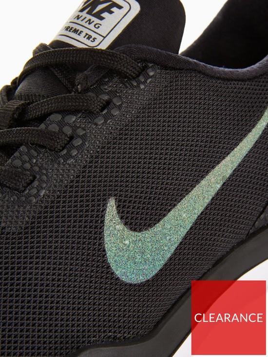 934b30a17454b ... Nike Flex Supreme TR 5 Shine - Black Grey. View larger