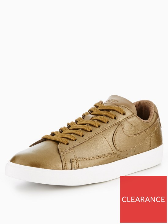 Blazer Gold Blazer Low Leather Low Leather Gold c3AjLS5q4R
