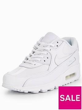 nike-air-max-90-leather-whitenbsp