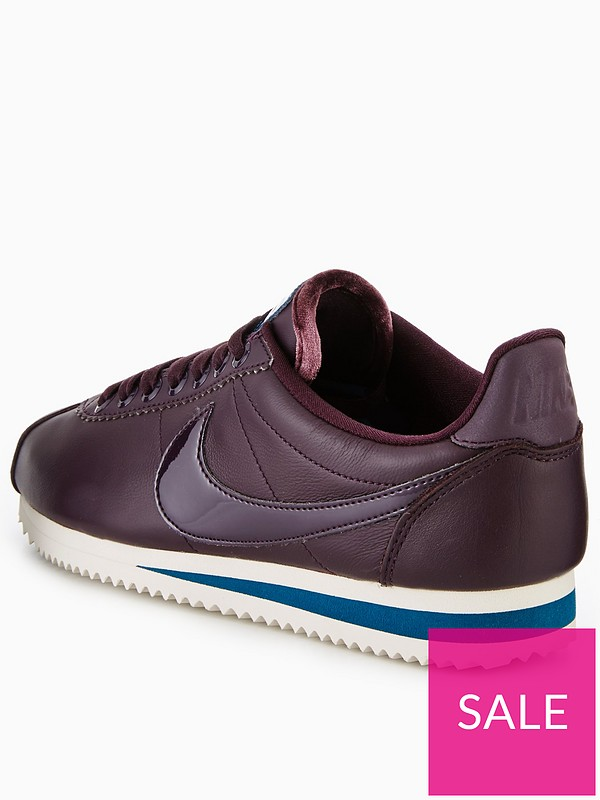 9759f2ac9 Nike Classic Cortez SE Premium - Burgundy | very.co.uk