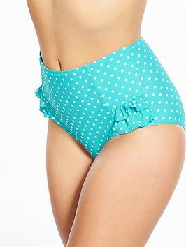 pour-moi-hot-spots-high-waist-control-bikini-brief-aqua
