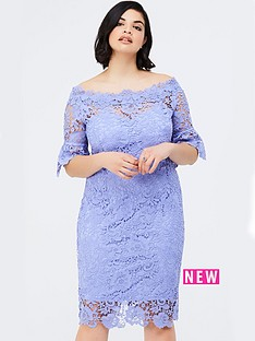 paper-dolls-curve-bluebell-lace-bardot-dress