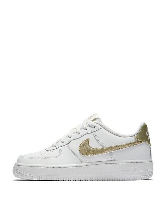 133c78246b Nike Air Force 1 Junior Trainer | very.co.uk