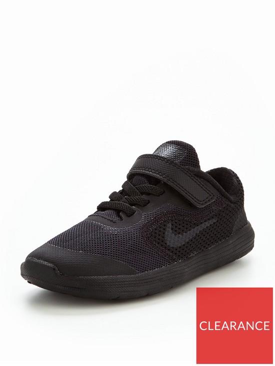 Nike Revolution 3 Infant Trainer - Black  3010377dbc6a