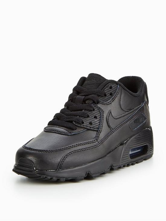 cc1d9a60210 Nike Air Max 90 Leather Junior Trainer