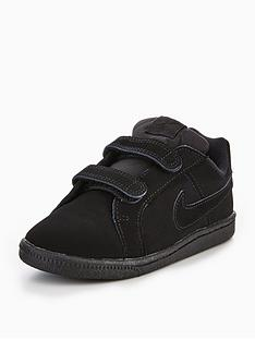sports shoes 6a90e 77b8b Nike Court Royale Infant Trainer - Black