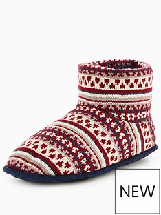 totes-isotoner-totes-fairisle-slipper-boot