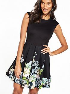 ted-baker-gem-garden-border-skater-dress