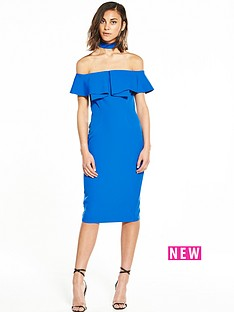 river-island-bodycon-choker-dress