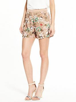 river-island-embroidered-shorts