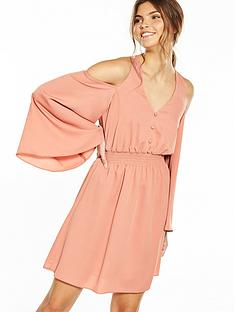 river-island-long-sleeve-pink-dress