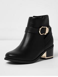 river-island-buckle-block-heel-boot