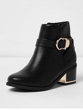 river-island-buckle-block-heel-boot