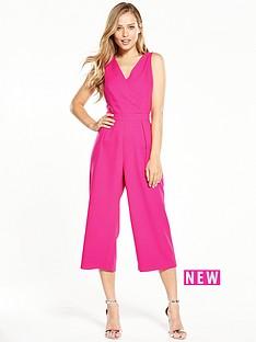 oasis-wrap-front-jumpsuit-pink
