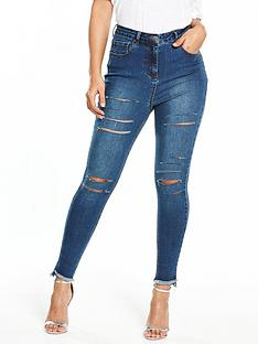 v-by-very-tall-addison-highwaist-super-skinny-multi-slash-jean