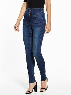 v-by-very-short-macy-high-waisted-skinny-jean
