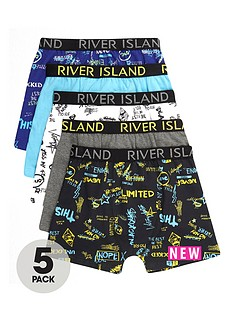 river-island-boys-blue-word-print-boxers-multipack