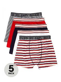 river-island-boys-navy-stripe-boxers-multipack