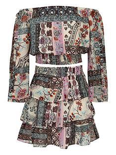 river-island-girls-print-bardot-top-and-rara-skirt-outfit