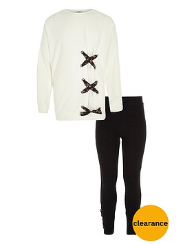 river-island-girls-cream-tie-up-front-sweatshirt-outfit