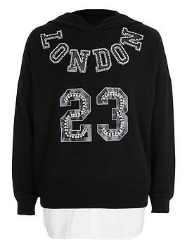 river-island-girls-black-lsquolondonrsquo-embellished-hoodie