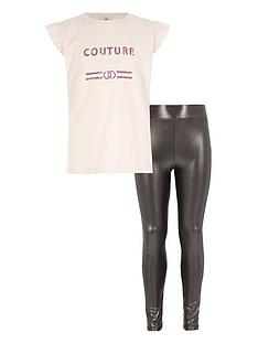 river-island-girls-pink-top-and-metallic-leggings-outfit
