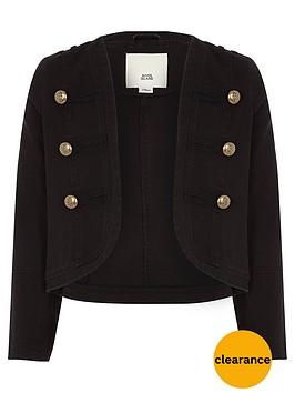 river-island-girls-black-military-jacket
