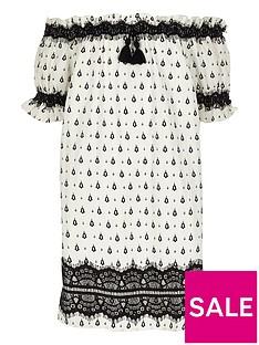 river-island-girls-white-print-lace-bardot-dress