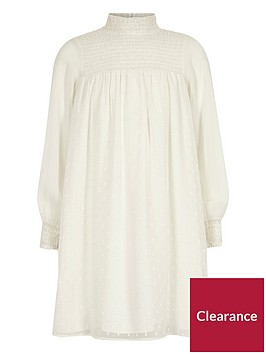 river-island-girls-white-shirred-high-neck-trapeze-dress