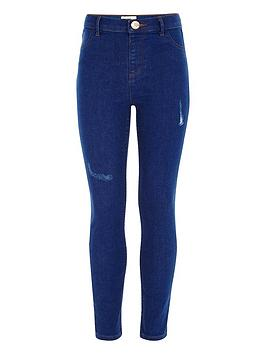 river-island-girls-blue-molly-distressed-jeggings