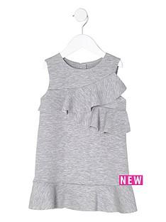 river-island-mini-girls-grey-ruffle-jersey-shift-dress