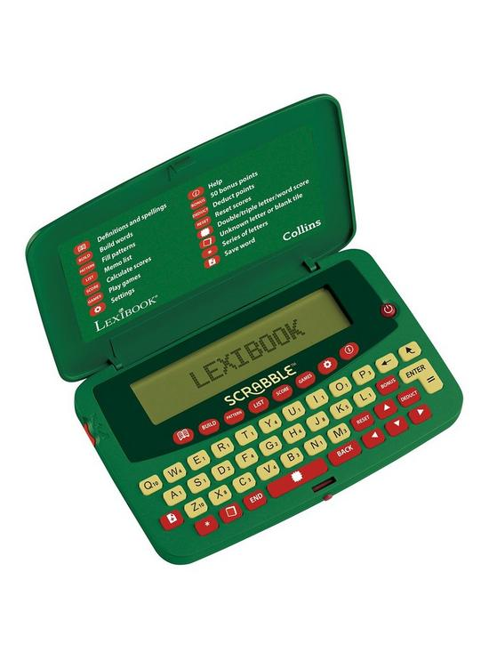 Scrabble Electronic Official Scrabble Dictionary Very