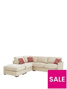 aria-fabric-left-hand-standard-back-corner-chaise-sofa-with-footstool