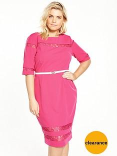 paper-dolls-curve-lace-insert-pencil-dress-pink