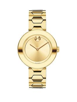 movado-movado-bold-32mm-case-polished-bezel-yellow-gold-plated-stainless-steel-bracelet-ladies-watch