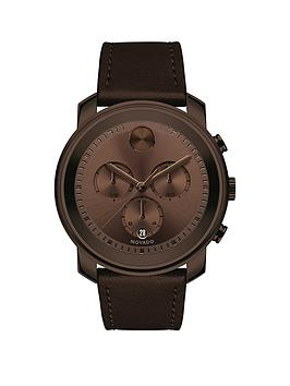 movado-bold-44mm-brown-ip-case-chronograph-dial-leather-strap-mens-watch
