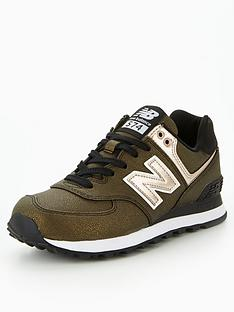 new-balance-574-metallic-greengoldnbsp