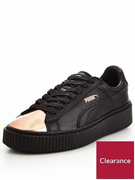 puma-basket-platform-metallic-blackgoldnbsp