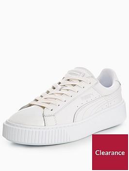 puma-basket-platform-metallic-whitesilvernbsp