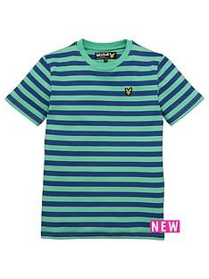 lyle-scott-boys-micro-stripe-short-sleeve-t-shirt