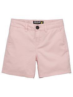 lyle-scott-boys-linen-short
