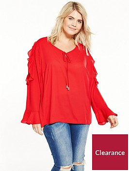 v-by-very-curve-ruffle-lace-insert-blouse