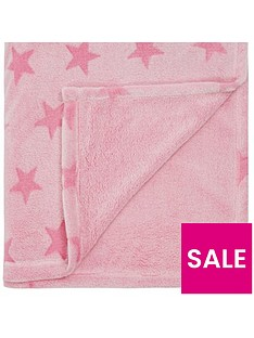 catherine-lansfield-star-fleece-throw