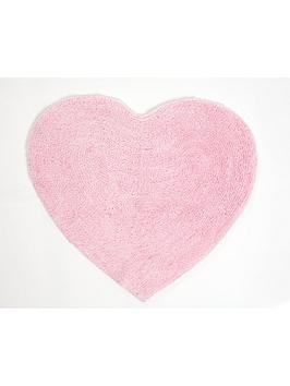 Catherine Lansfield Heart Shaped Rug | Very.co.uk
