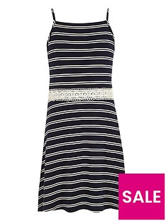 river-island-girls-white-stripe-crochet-waist-dress