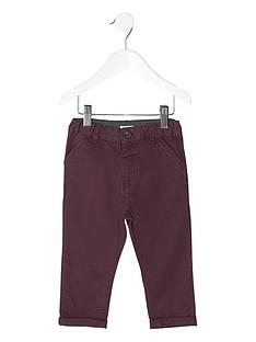river-island-mini-boys-burgundy-chino-trousers