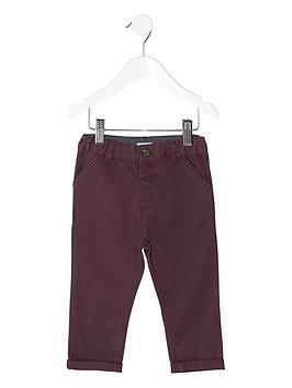 river-island-mini-boys-burgundy-chino-trousers